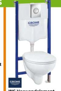 WC-Vorwandelement Solido Compact 5-in-1 Set von Grohe
