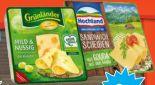 Sandwich-Scheiben von Hochland