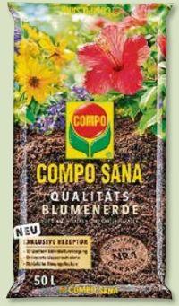 Sana Qualitäts-Blumenerde von Compo