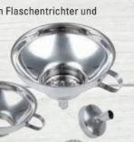 Edelstahl-Einfülltrichter von CHG