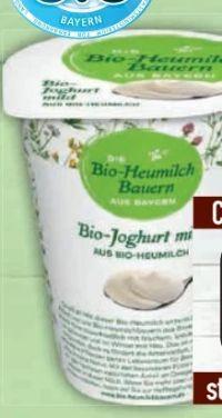 Bio Joghurt von Bio-Heumilch Bauern