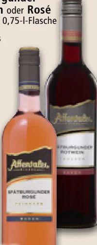 Edition Spätburgunder Rotwein von Affentaler