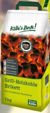 Grill-Holzkohle Brikett von Kölle's Beste