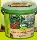 Balkon- und Kübelpflanzen-Dünger von Kölle's Bio