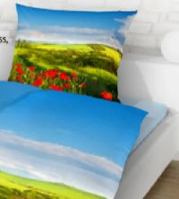 Baumwoll-Satin-Bettwäsche von Schlafwohl