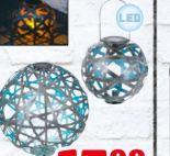 LED-Solar-Kugelleuchte Bernike von Casaya
