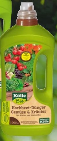 Hochbeet-Dünger Gemüse & Kräuter von Kölle's Bio