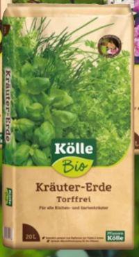 Bio Kräuter-Erde von Kölle's Bio