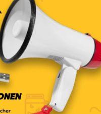 Fan-Megaphon von Intenso