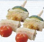 Kabeljauspieß Gemüse