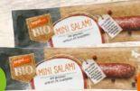 Bio-Mini-Salami-Snack von tegut...