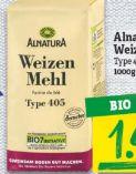 Bio Weizenmehl von Alnatura