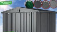 Metall-Gerätehaus Europa 3 von Biohort