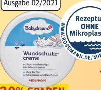 Parfümfreie Wundschutzcreme von Babydream