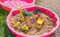 Sand- und Wassermuschel von Big