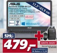 Notebook D705BA-BX122T von Asus