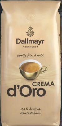 Crema D'Oro Kaffeebohnen von Dallmayr