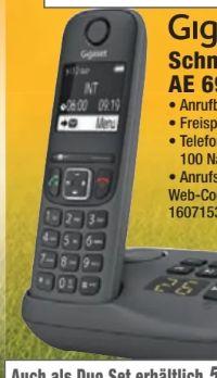 Schnurloses-Telefon AE 690A von Gigaset