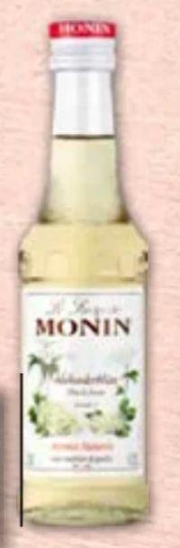 Holunderblütensirup von Monin