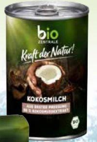 Kokosmilch von Bio Zentrale