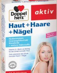 Doppelherz Haut + Haare + Nägel Tabletten von Queisser Pharma