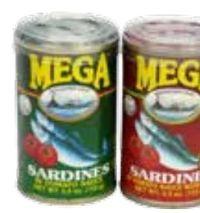 Sardinen in Tomatensauce von Mega Sardinen