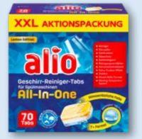 Geschirr-Reiniger Tabs von Alio