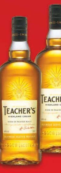 Scotch Whisky von Teacher's