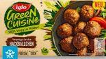 Green Cuisine Vegetarische Hackbällchen von Iglo