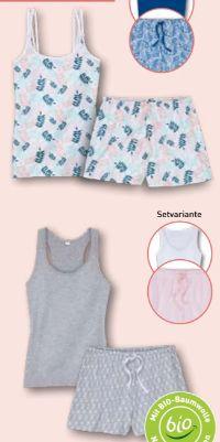 Damen Sommer-Pyjama von Queentex