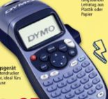Beschriftungsgerät LetraTag LT-100H von Dymo