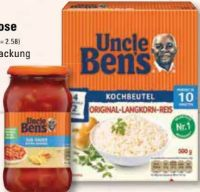Spitzen-Langkorn-Reis Kochbeutel von Uncle Ben's