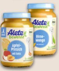 Früchte von Alete