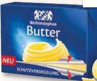 Frische Butter von Weihenstephan