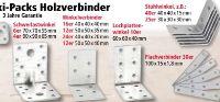 Maxi-Packs Holzverbinder von Kraft Werkzeuge