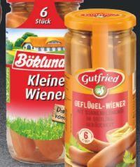 Kleine Wiener von Böklunder