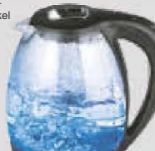 LED-Glaswasserkocher von Gourmetmaxx