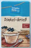 Dinkel-Grieß von Schapfen Mühle