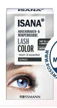 Eye Lash Augenbrauen- & Wimpernfarbe von Isana