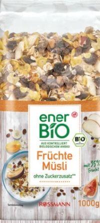 Früchte Müsli von enerBiO