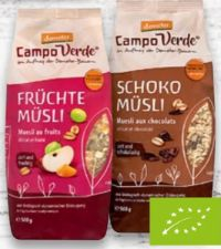 Bio- Müsli von Campo Verde