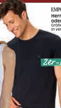 Herren T-Shirts von Emporio Armani