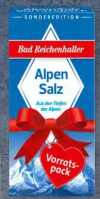 Alpen Salz von Bad Reichenhaller