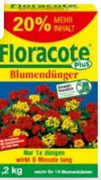 Floracote plus Blumendünger von Compo
