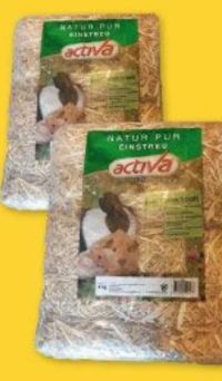 Natur Einstreu Stroh von Activa Tierfutter
