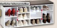 Schuhschrank mit Sitzkissen von Kesper