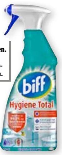 Reinige Hygiene Total von Biff