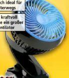 Mini-Tischventilator Go Fan von Livington