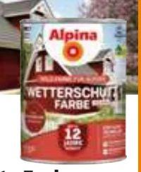Wetterschutzfarbe von Alpina