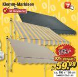 Klemm-Markise